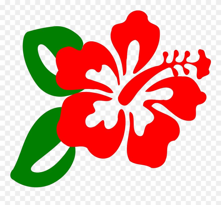Hibiscus Clipart Clip Art Clip Art Hibiscus Flower Png Download