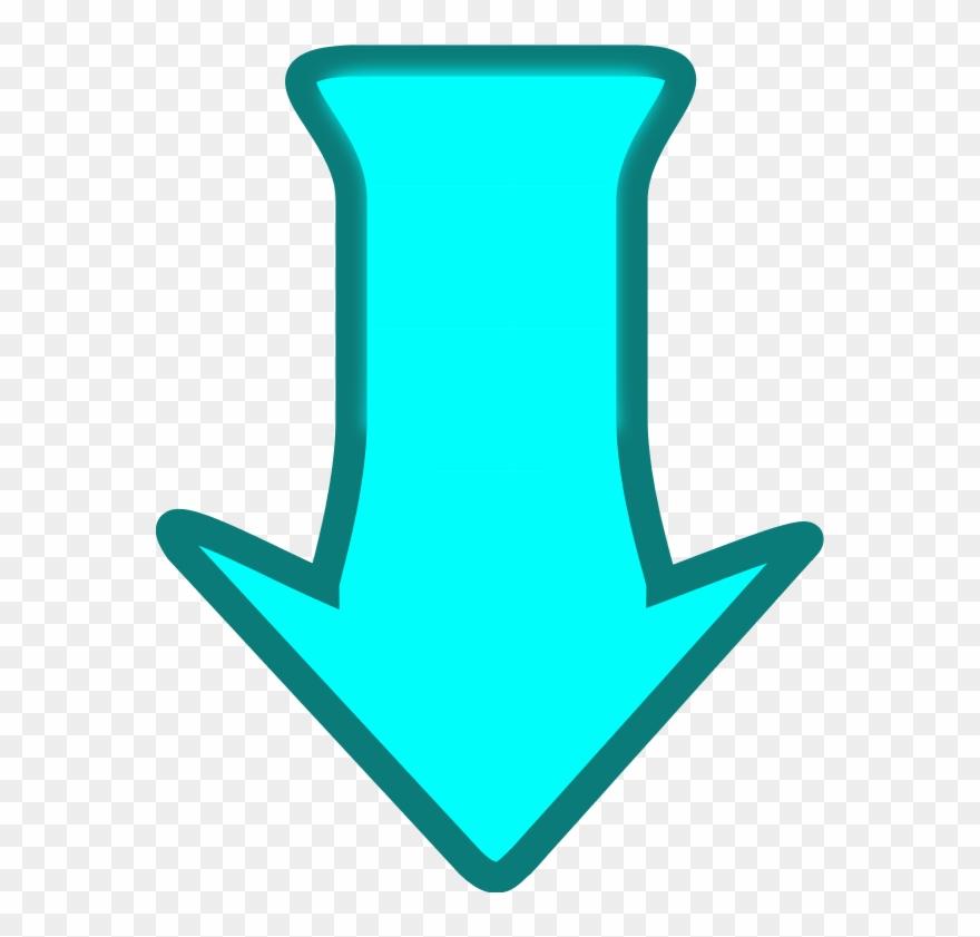 Arrow Pointing Down >> Arrow Pointing Down Downwards Cartoon Vector Arrow Pointing Down