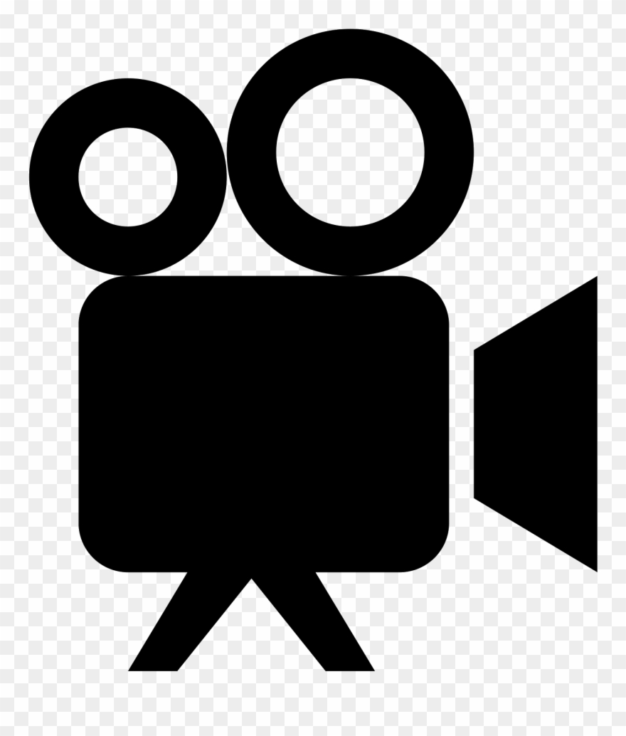 Movie projector. Clipart royalty free icon