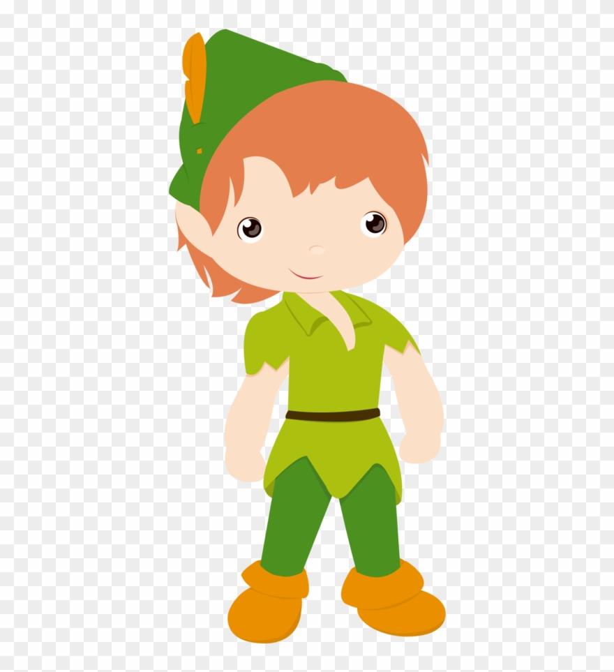Sininho Ii - Minus - Cute Peter Pan Clipart - Png Download