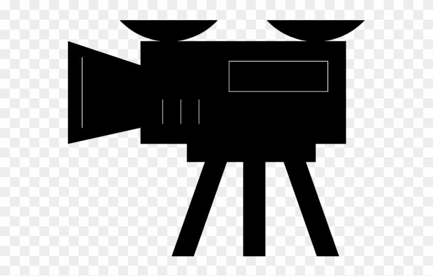 Movie old fashioned. Film clipart camera cartoon