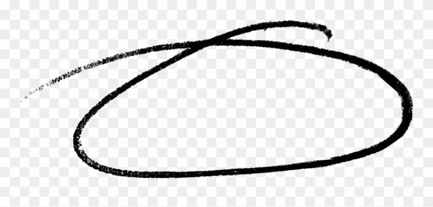Drawn Circle White Png - Hand Drawn Circle Png Clipart