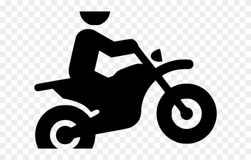 Motocross Clipart Svg Silhouette Moto Png Download 403585 Pinclipart
