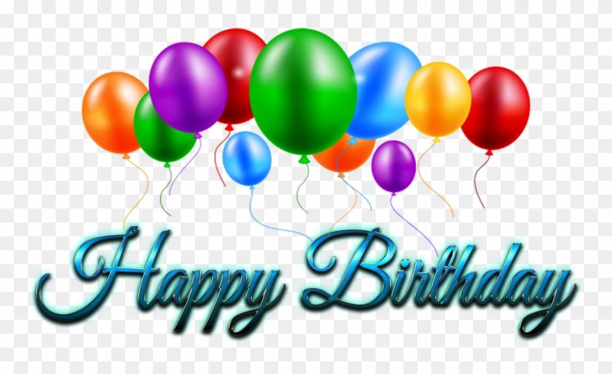 Balloon Desktop Wallpaper Clip Art Happy Birthday Logo Png