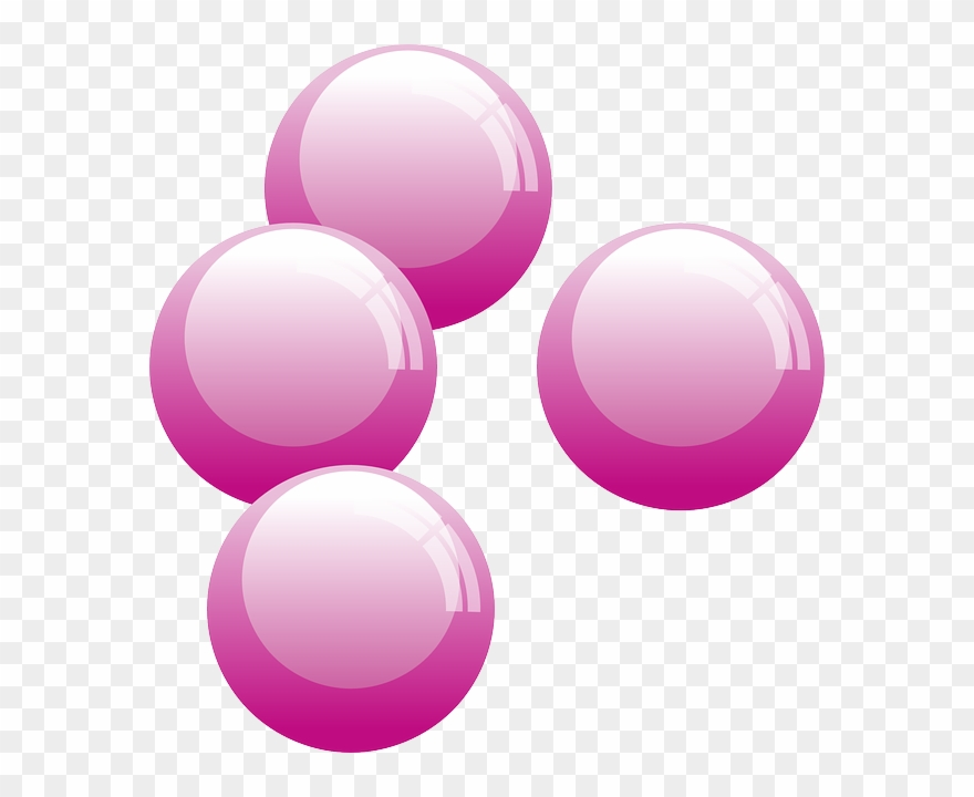 Bubble pink. Water blister clipart gum
