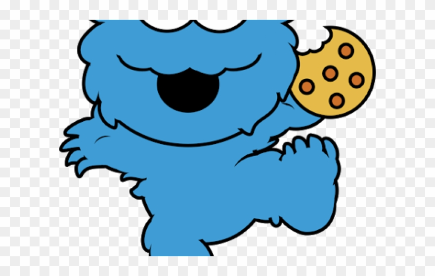 Cookie Monster Clipart Well Known Baby Cookie Monster