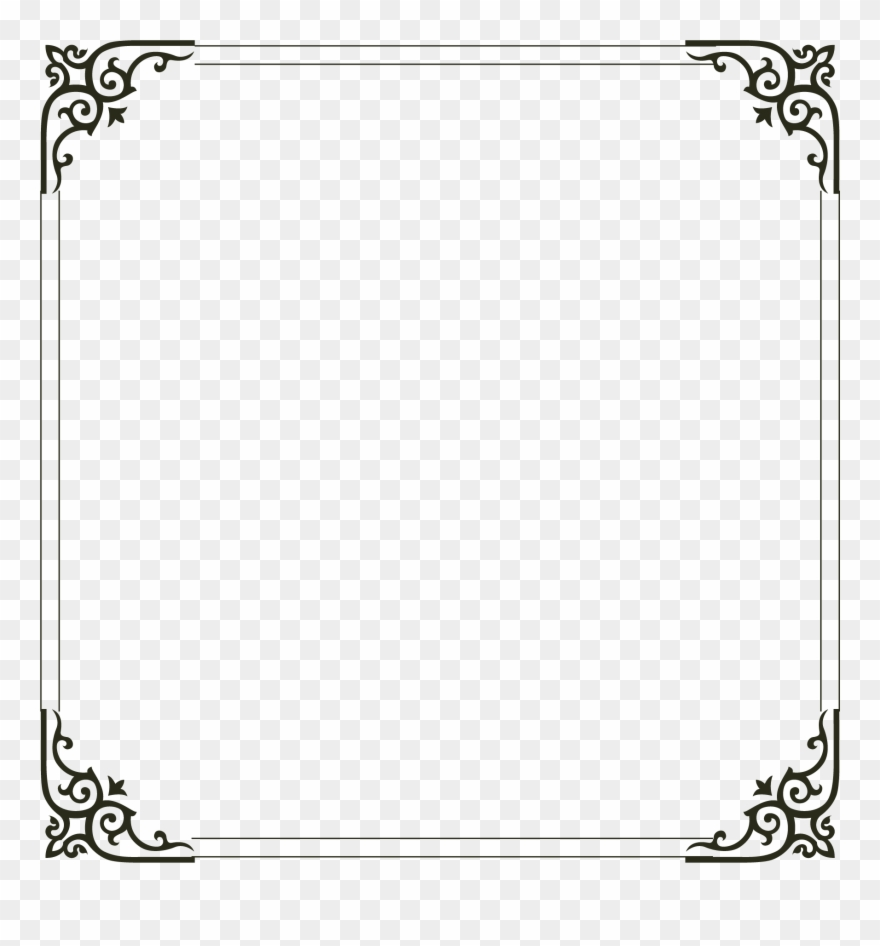 Download Picture Simple Frame Computer File Border Clipart ...