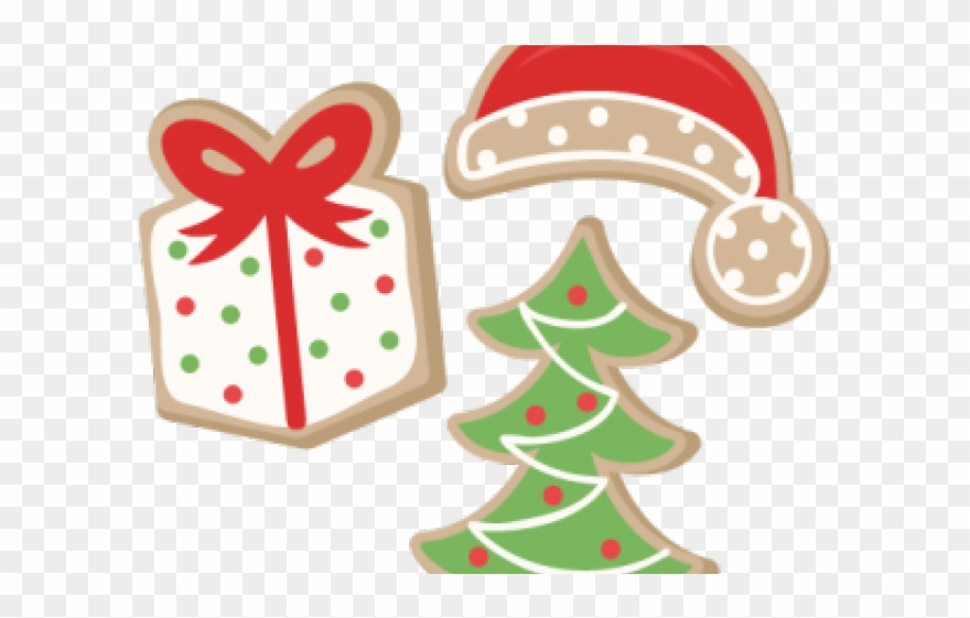 Baking Christmas Cookies Clipart.Cookie Clipart File Christmas Tree Png Download