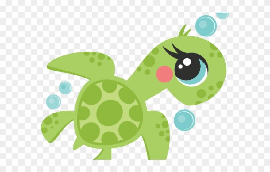 Cute Clipart Sea Turtle Cartoon Cute Sea Turtle Png Download