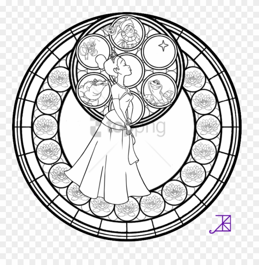 Free Png Disney Mandala Coloring Pages Png Image With Disney