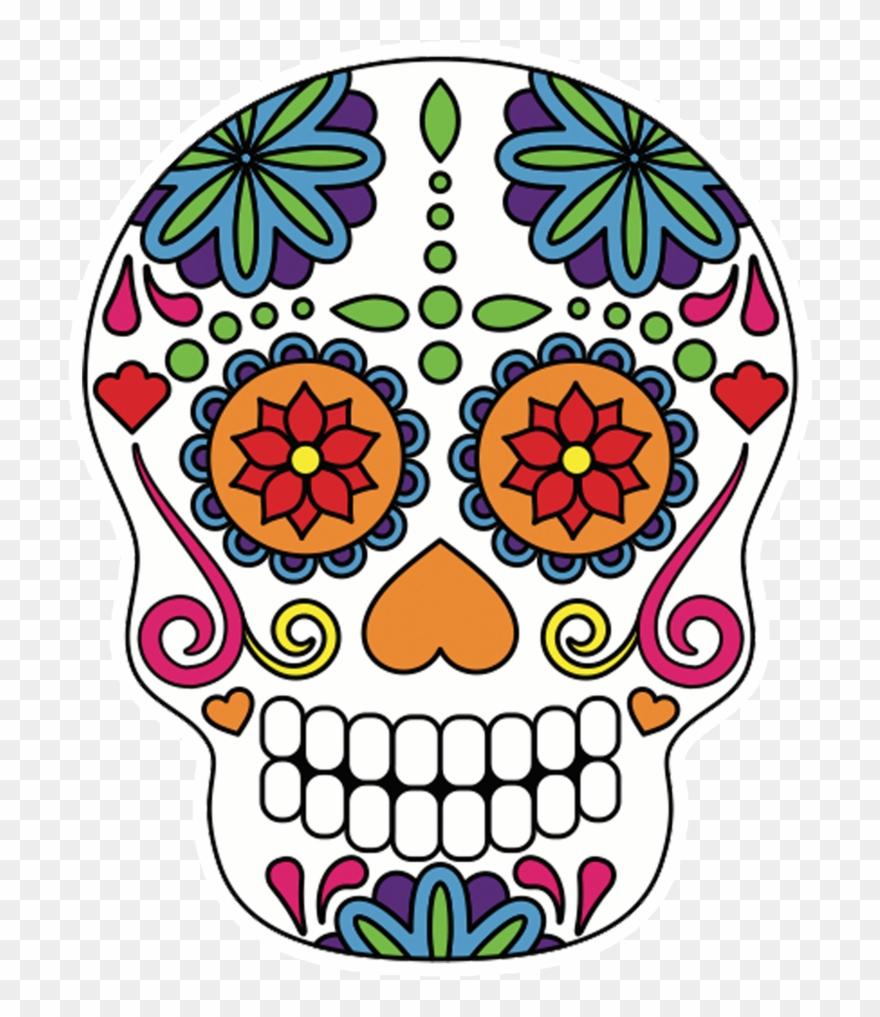 Skulls Pop Studios Props Dessin Squelette Mexicain Couleur