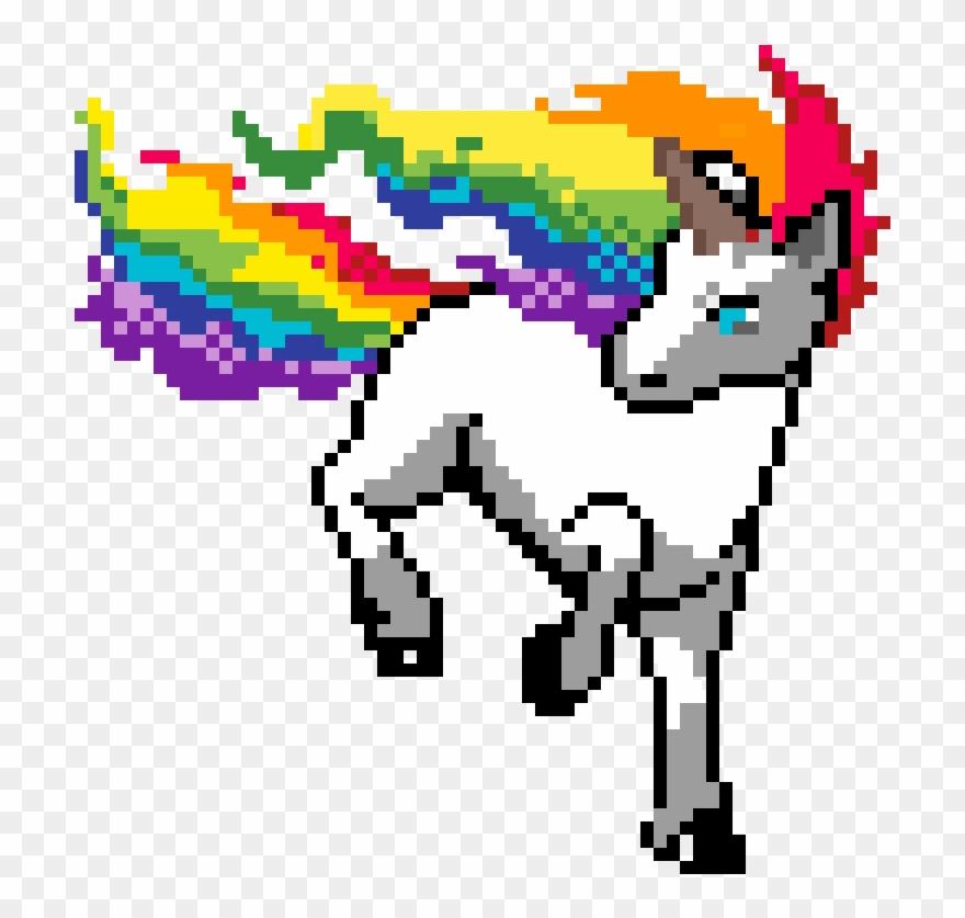 Unicornio Best Pixel Art Pokemon Clipart 4058836