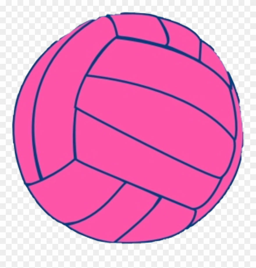 Pink Ball Volleyball Art Icon Aesthetic Tumblr Transparent Background Volleyball Clipart Png Download 4064821 Pinclipart