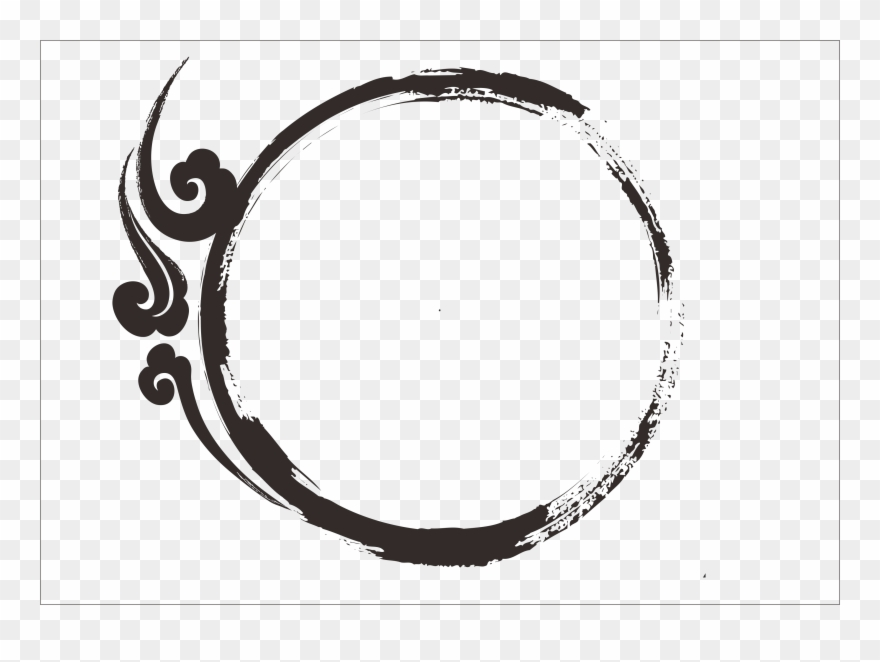border circle png border transprent png - transparent black circle border
