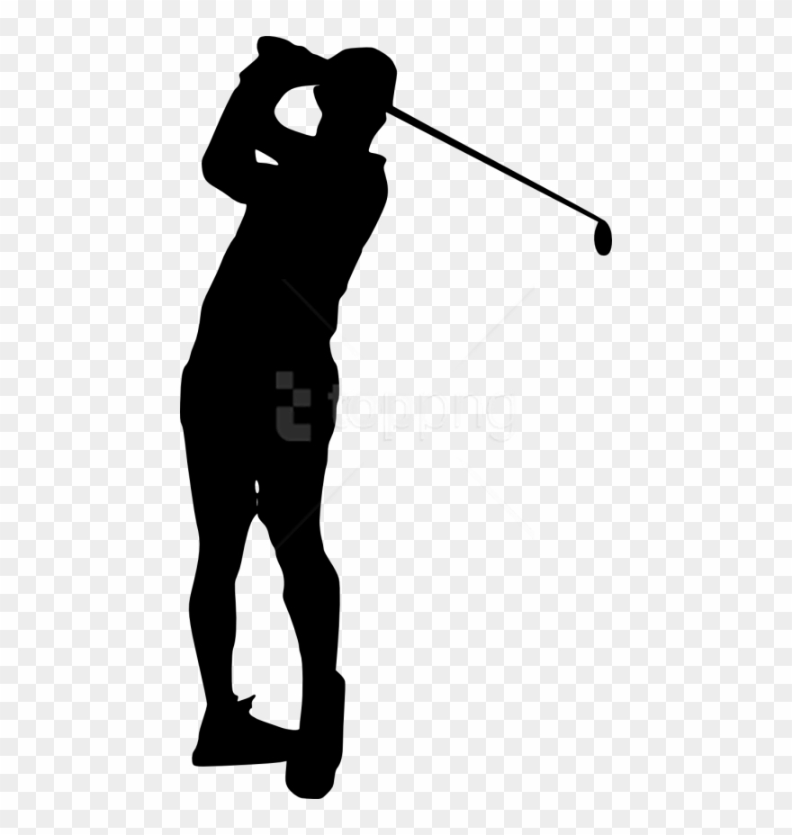 Free Png Golfer Silhouette Png Images Transparent Golfer Silhouette Transparent Background Clipart 4071929 Pinclipart
