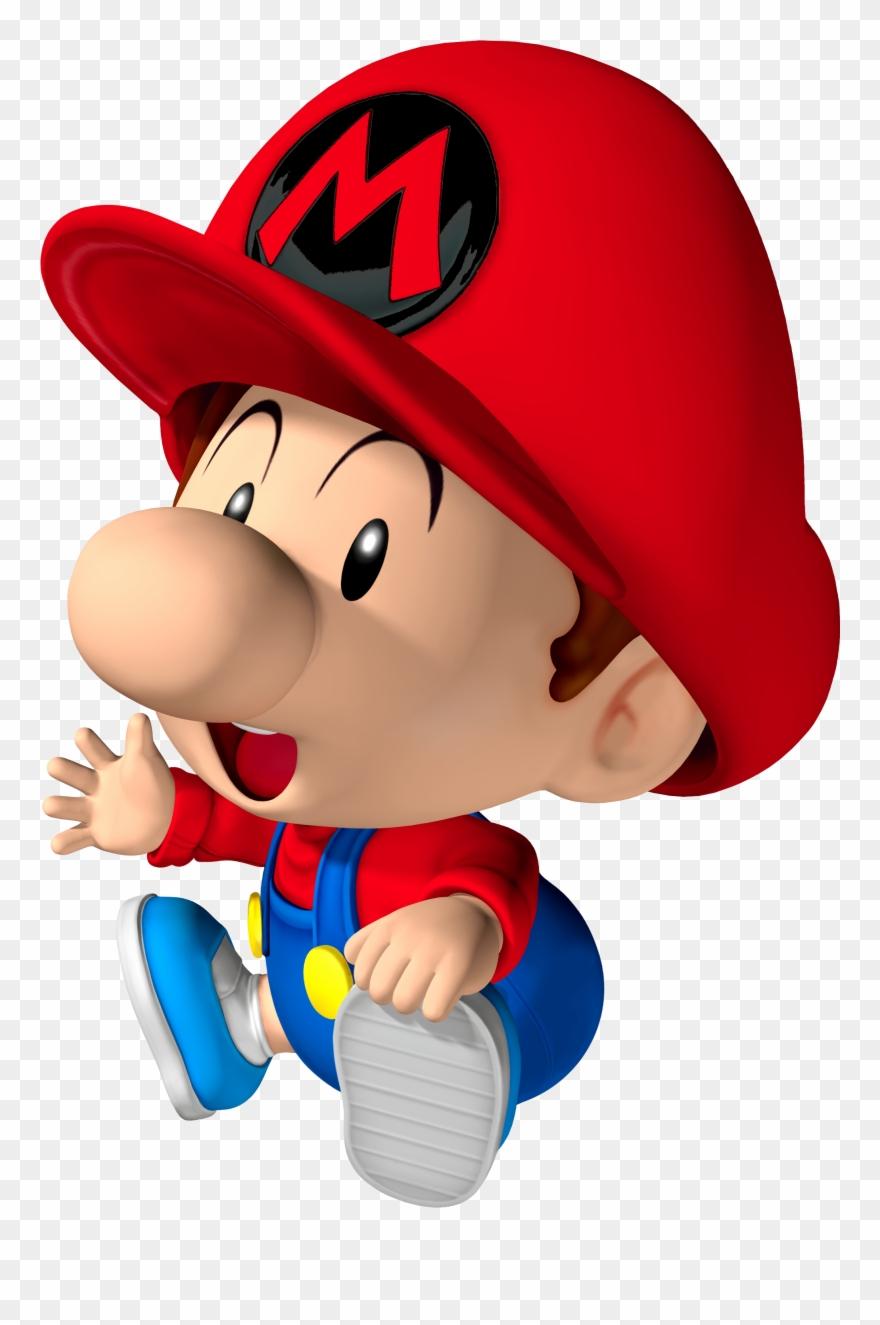 Baby Mario And Luigi 2 Baby Mario Mario Kart Clipart