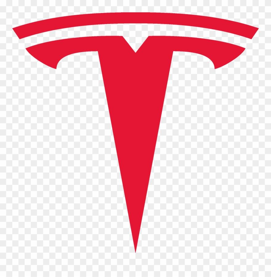 Tesla Logo Motors Png Tesla Logo Vector Clipart 4082427 Pinclipart