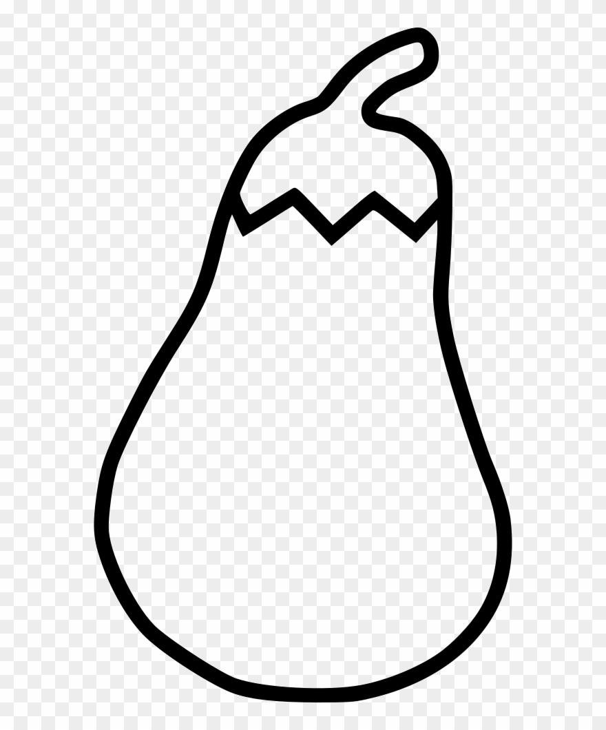 Eggplant Drawing At Getdrawings Free For Gambar Terong