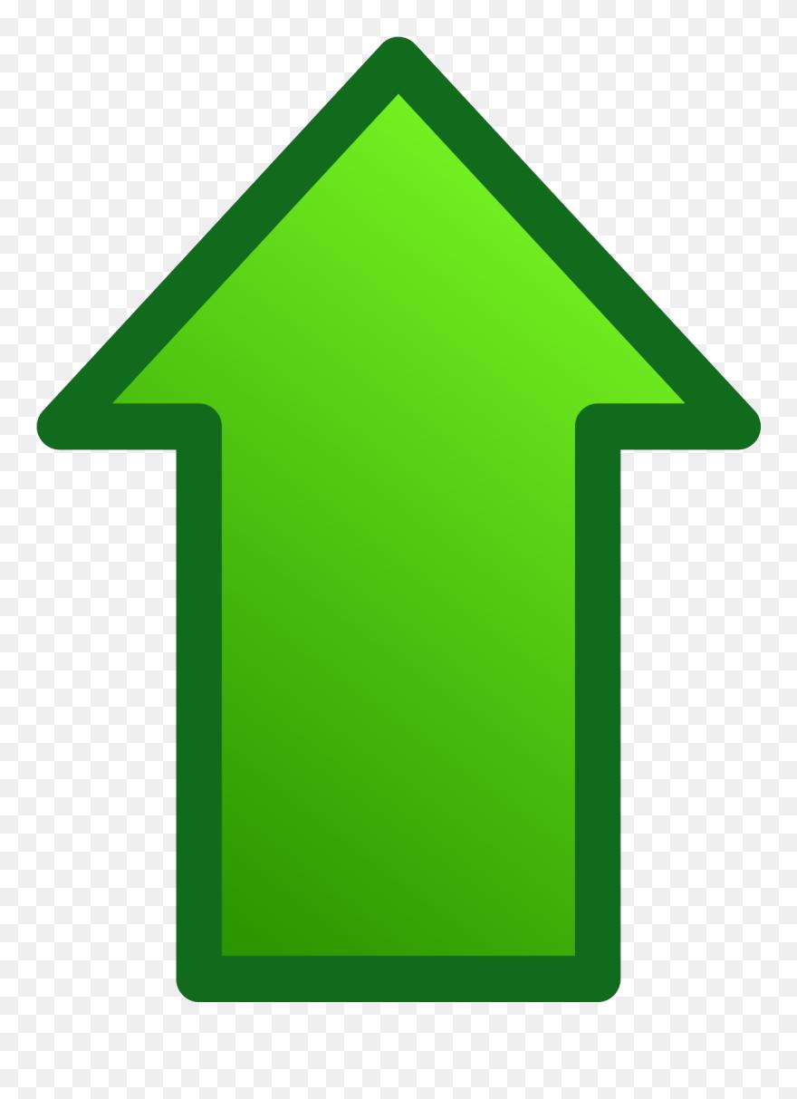 Arrows Clip Art Download - Up Green Arrow - Png Download ...