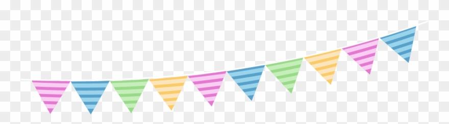 Birthday Icon Hanging Flag Birthday Decoration Vector Png