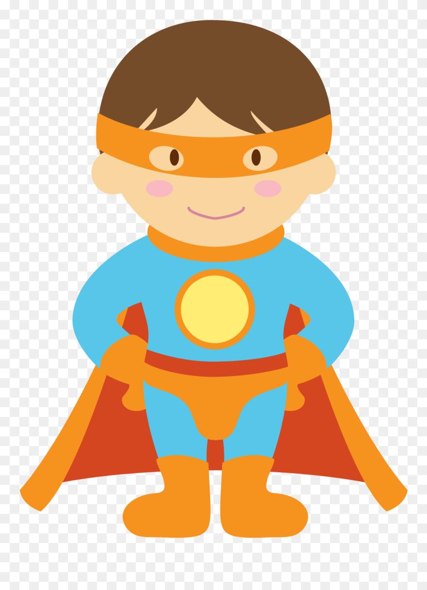 Superhero kid. Superheroes kids clipart easter