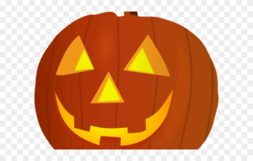 Pumpkin happy. Halloween clipart carved