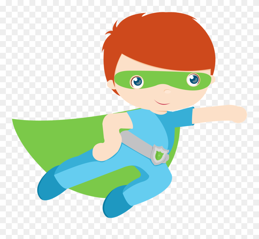 Kids Dressed As Superheroes Clipart Super Heroes Clipart Png