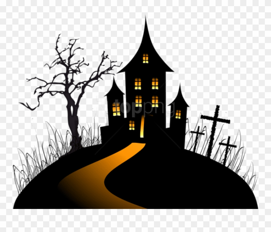 Free Png Download Halloween Creepy Castle Png Images