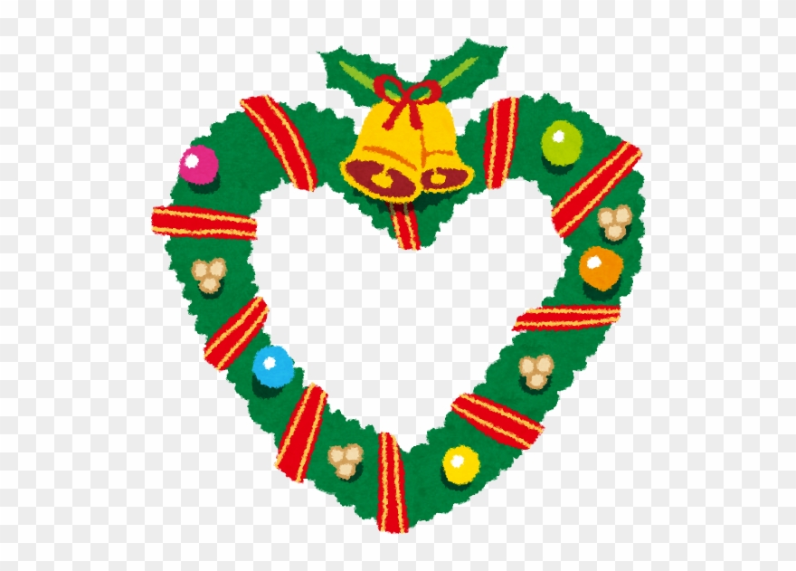 Christmas Heart Png.A Wreath Christmas Wreath Heart Png Clipart 4113600