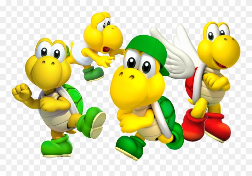 Bowser Characetrs Gaming Luigi Mario Nintendo Super