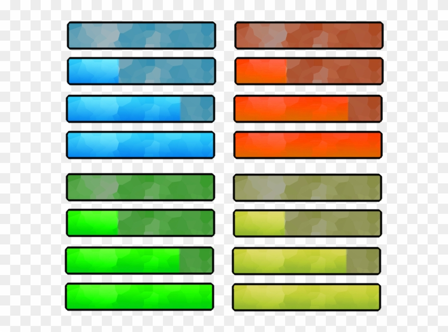 Video Game Health Bar Png Games Bar Png Clipart 4120987
