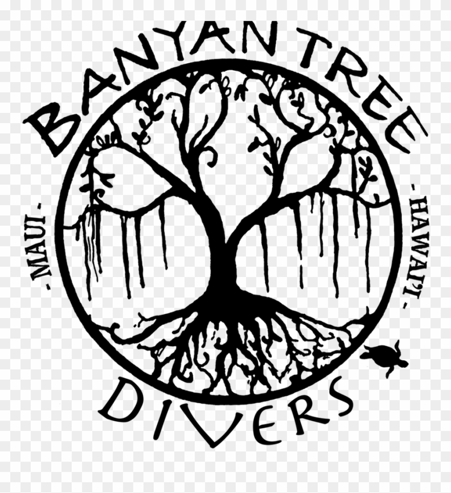 Banyan Tree Clipart Banian - Easy Banyan Tree Paintings To Draw - Png Download
