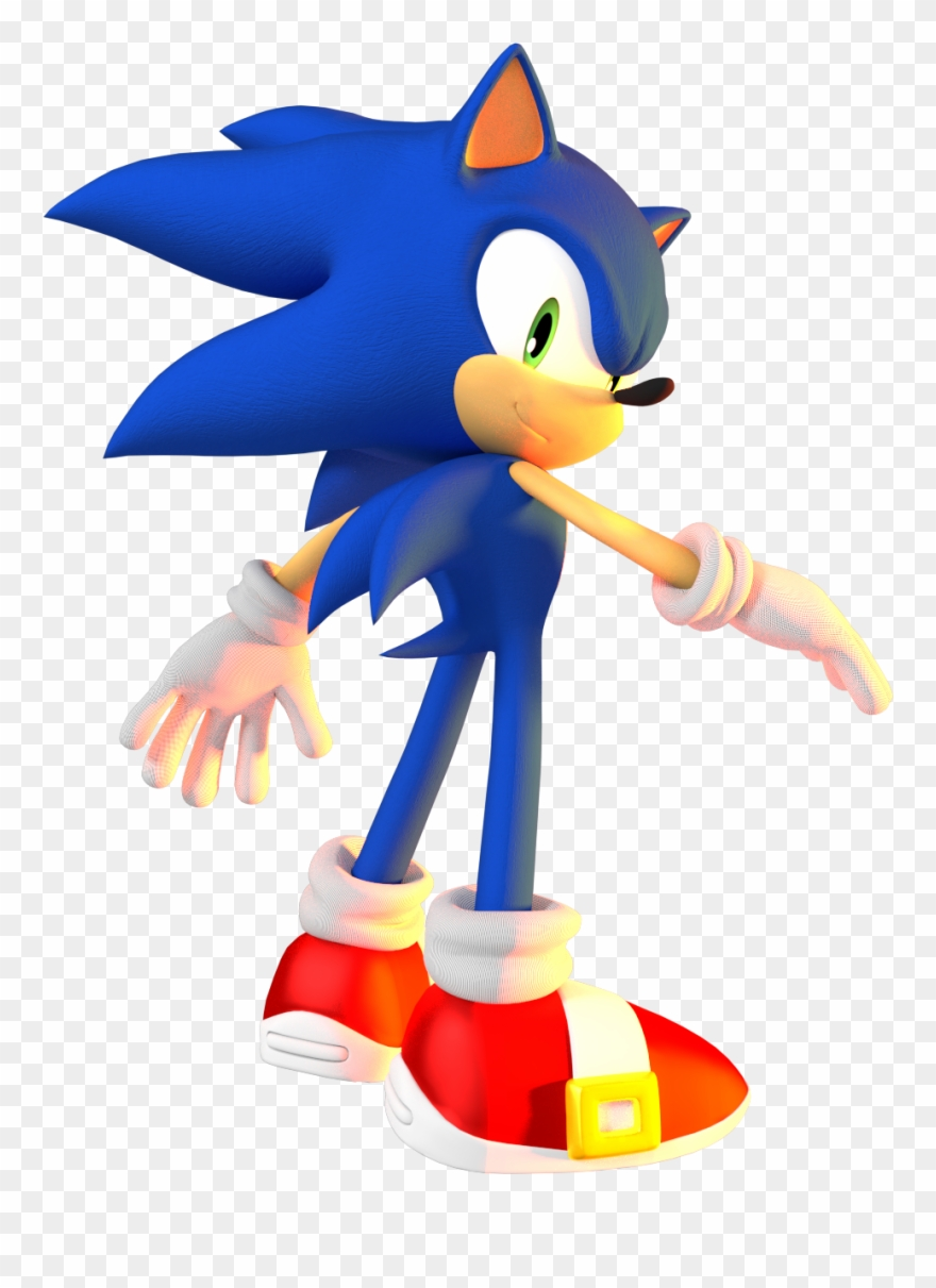 Sonic The Hedgehog Png Pack Sonic Adventure Sonic The Hedgehog 3d Clipart 4125140 Pinclipart