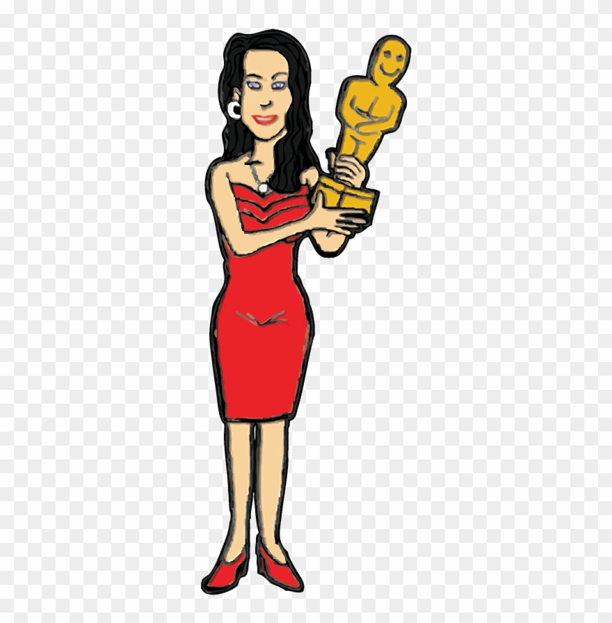 Clipart Of Acting Actress And Actrice Cartoon Png Download 4125910 Pinclipart