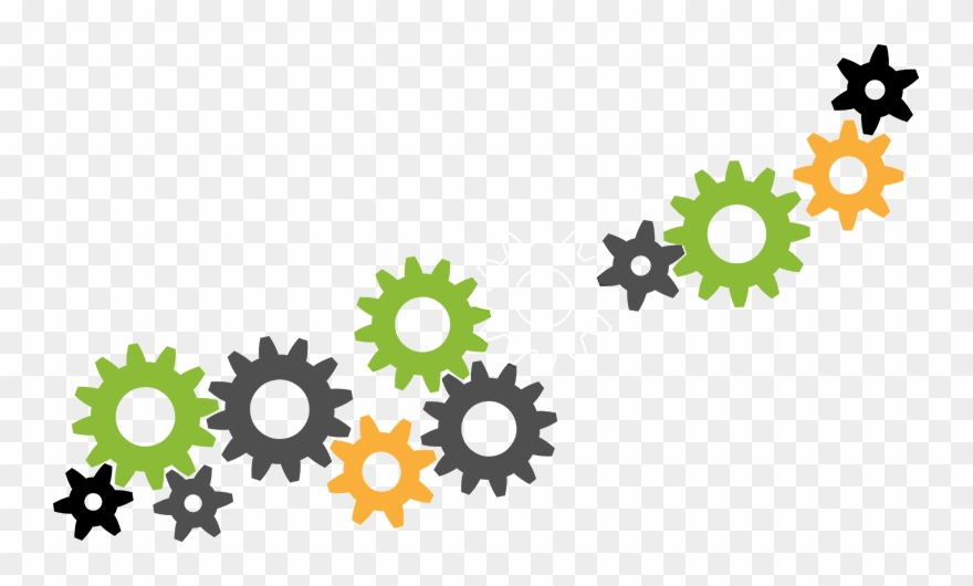 Missing A Cog - Gears Animation Clipart (#4128789) - PinClipart