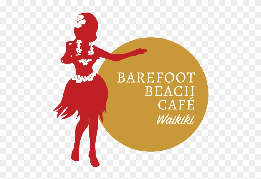 Cropped Logo Barefoot Waikiki 2 01 00211 - Barefoot Beach Cafe @ Queen's Surf Beach Clipart