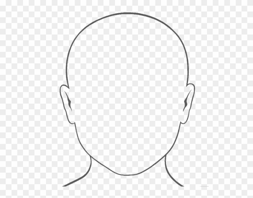 Download Blank Face Png Photo - Blank Face Template ...