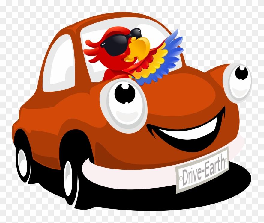 Png Red Cartoon Car Vector Clipart 4153912 Pinclipart