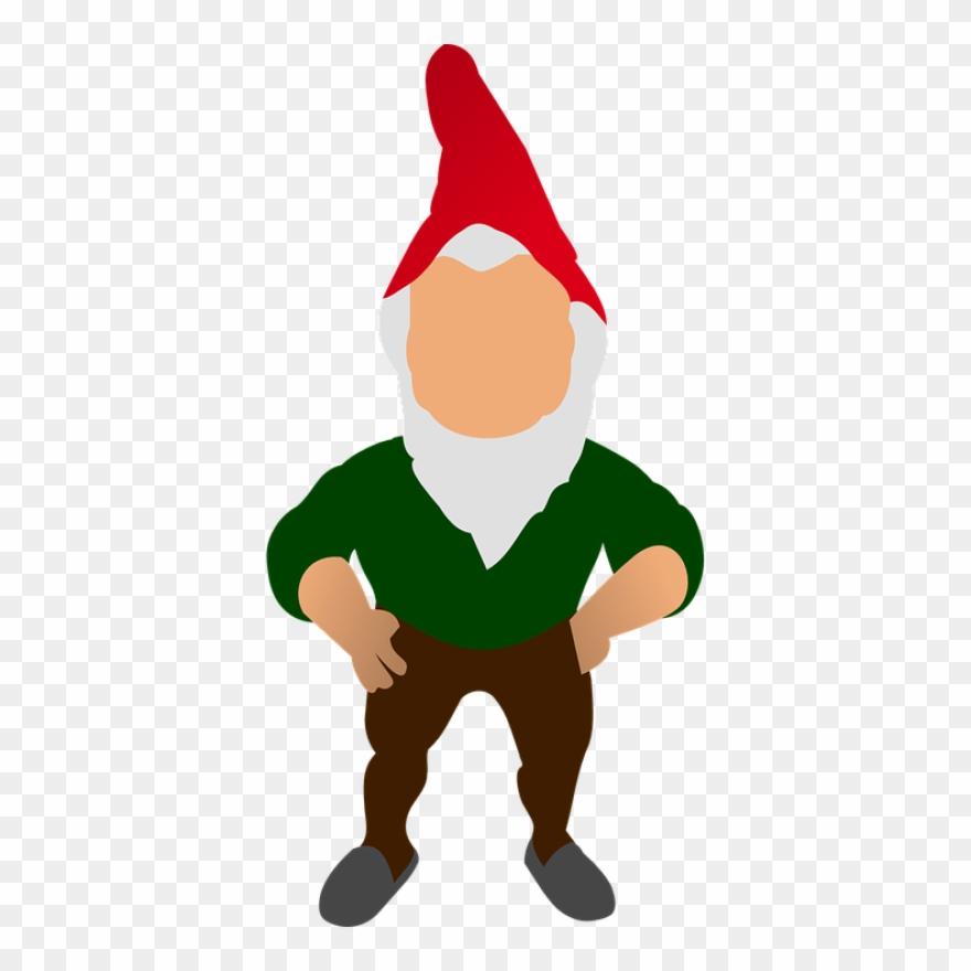 Christmas Gnomes Clipart.Gnome Garden Standing Deco Clip Art Gnomes Christmas