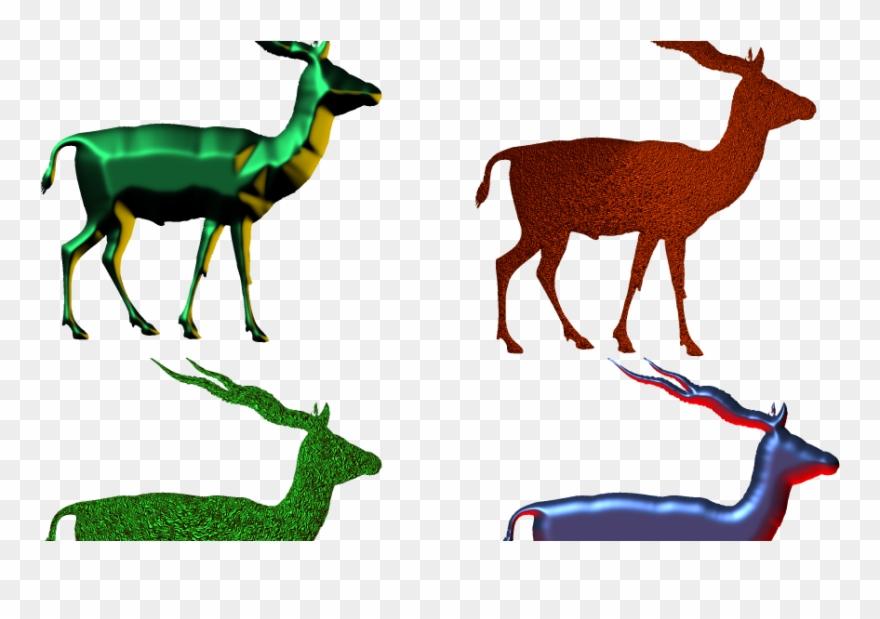 Antelope 3d Picture,antelope Png,impala Png - Animal ...
