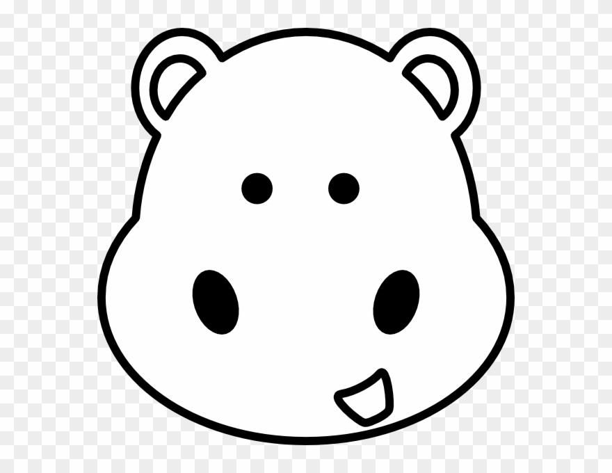 Hippo Drawing Eye Dibujos De Hipopotamos Bebes Para Colorear