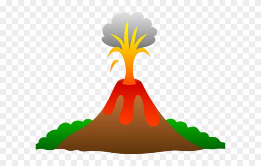 Eruption Clipart Cartoon Volcano Clipart Png Download