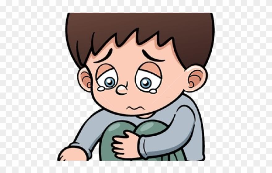 Sadness Clipart Parent Sad Boy Cartoon Png Transparent Png 4179197 Pinclipart