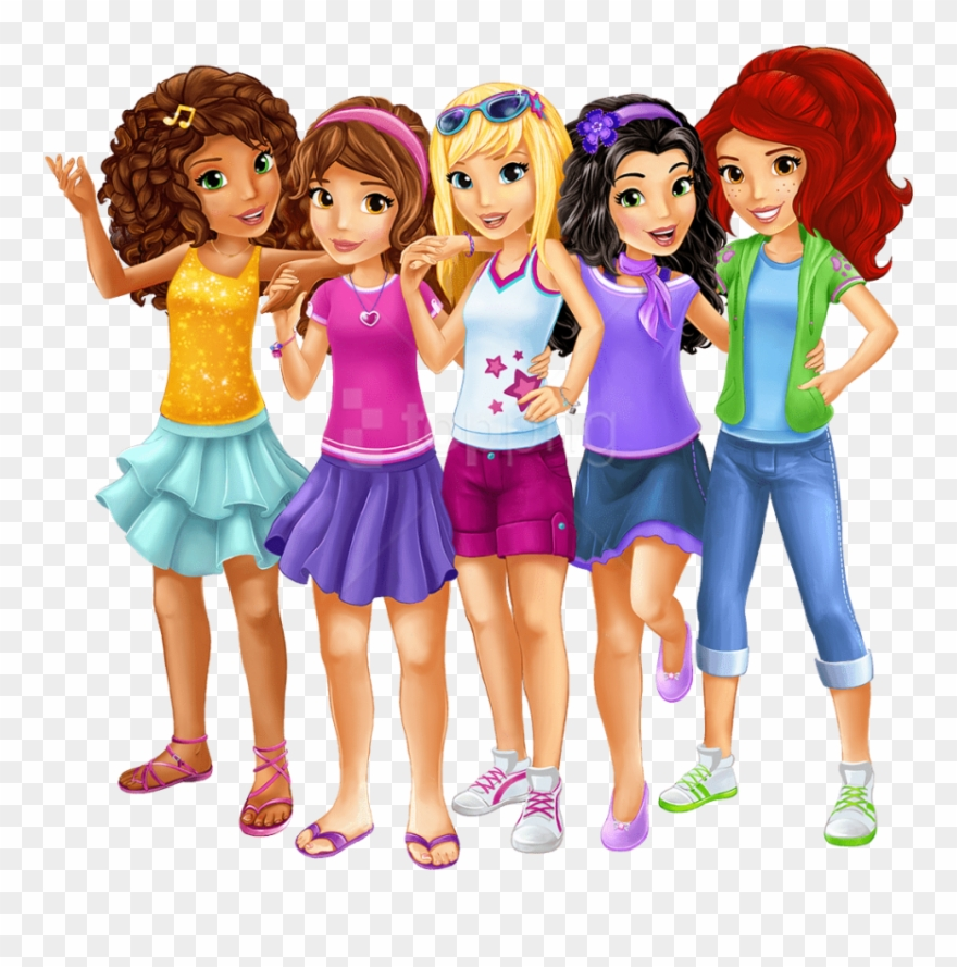 download free png download lego friends main characters