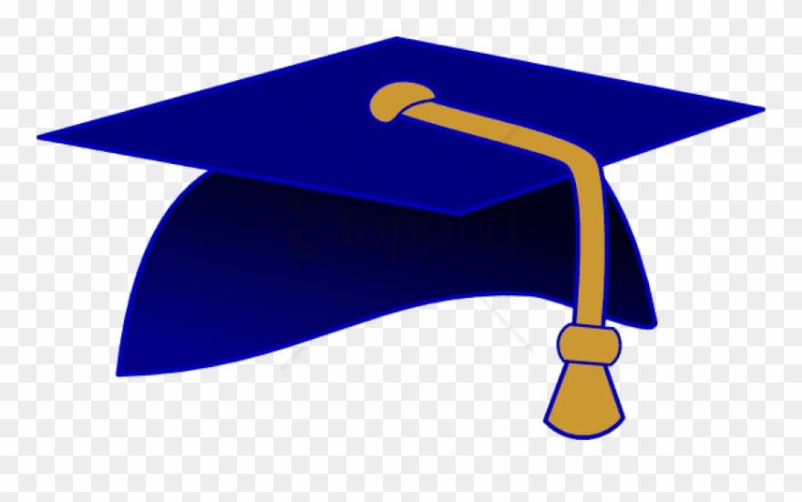 Graduation gold. Free png cap image