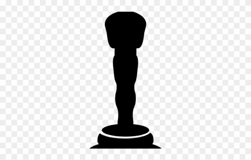 Movie silhouette. Oscar clipart themed oscars