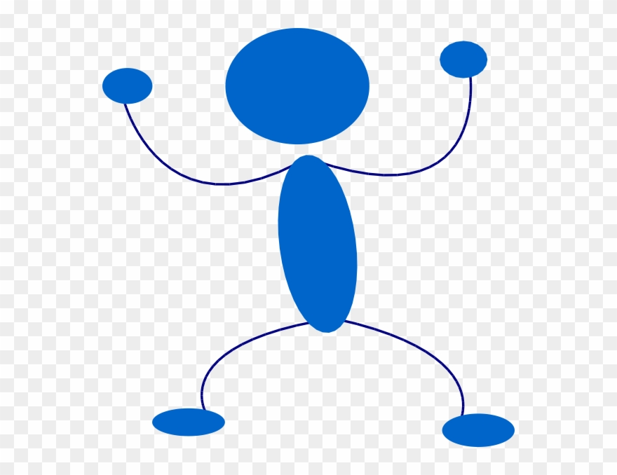 How To Set Use Blue Man Preparing To Punch Svg Vector