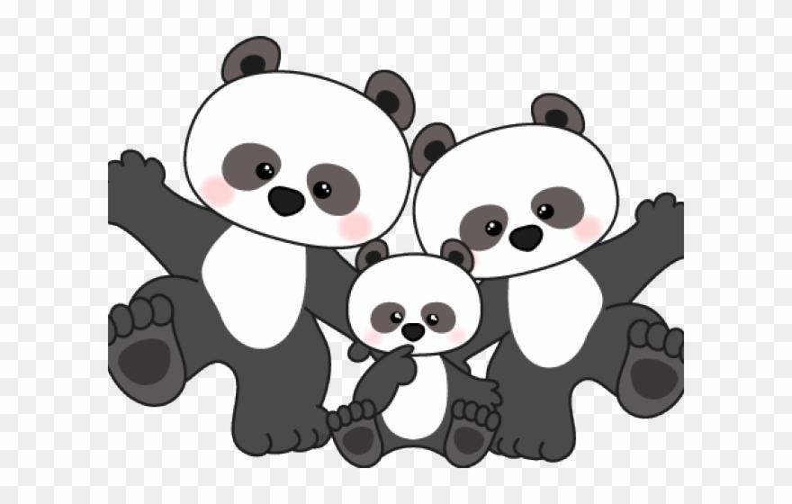 Cute Panda Clipart, HD Png Download - vhv