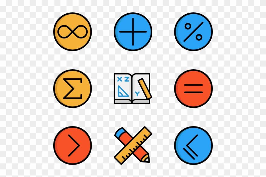 Math Symbols Png Math Png Clipart 422900 Pinclipart
