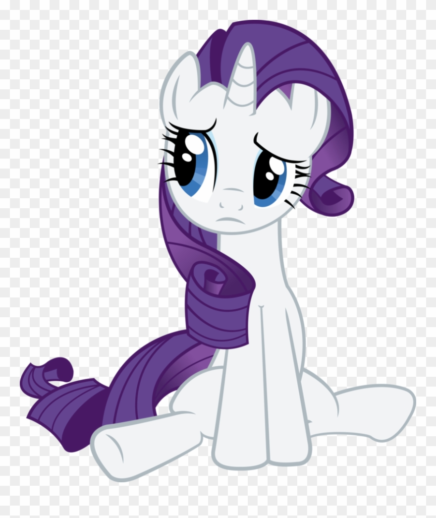 Mein Kleines Pony Bilder My Little Pony Rarity Sad Clipart